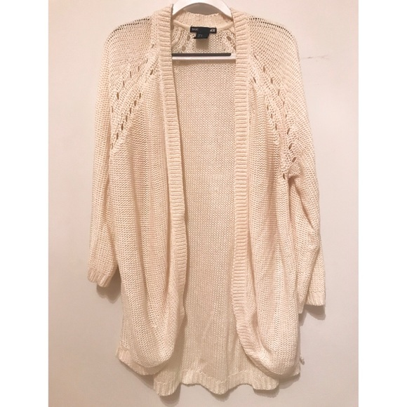 75aa6d8606 H M Sweaters - H M White Knit Cardigan